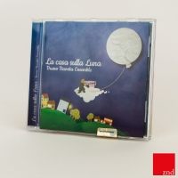 Packaging audio-cd - La Casa sulla Luna di Bruno Bavota