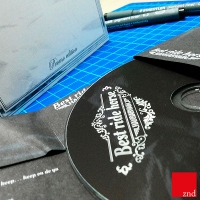 Packaging audio-cd artigianale